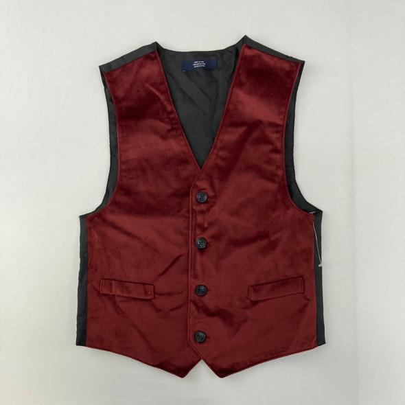 Red Suit Vest 7 yr