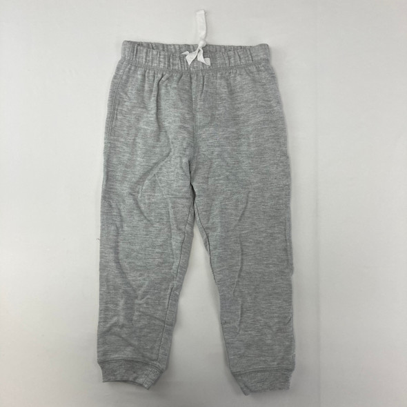 Gray Solid Joggers 3T