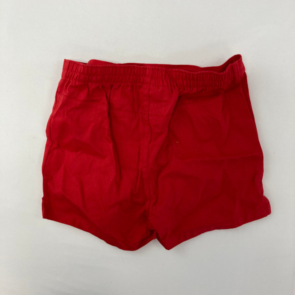 Solid Red Shorts 2T