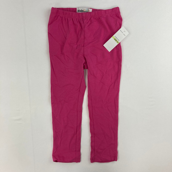 Bright Solid Leggings 4T