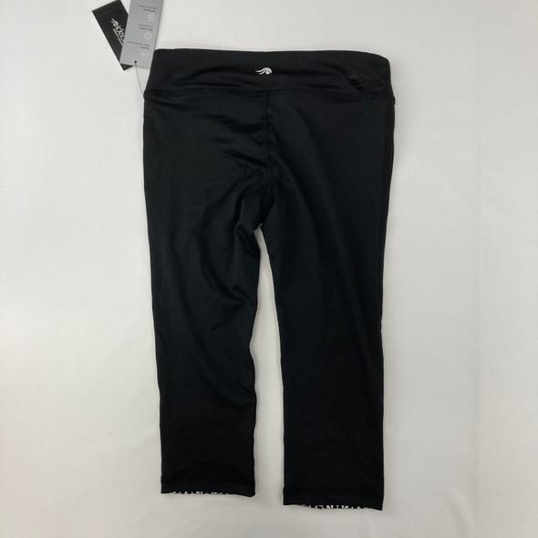 Black Capri Legging 7-8 yr