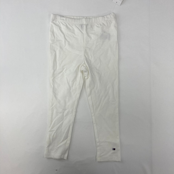 Solid White Legging 4T