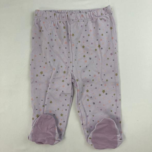Stars Foot Pants 3-6 mth
