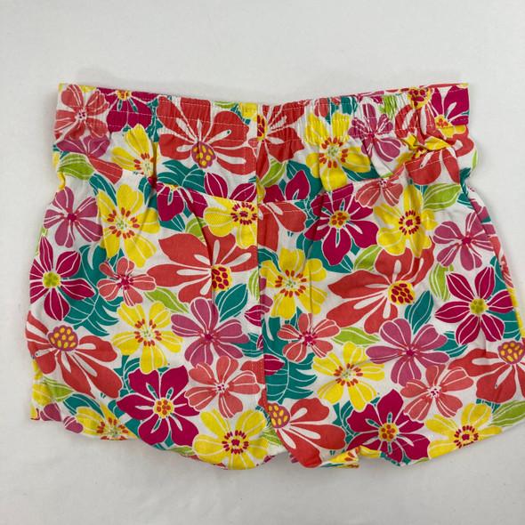Flower Print Shorts 6X