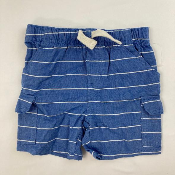 Stripe Shorts 6-9 mth