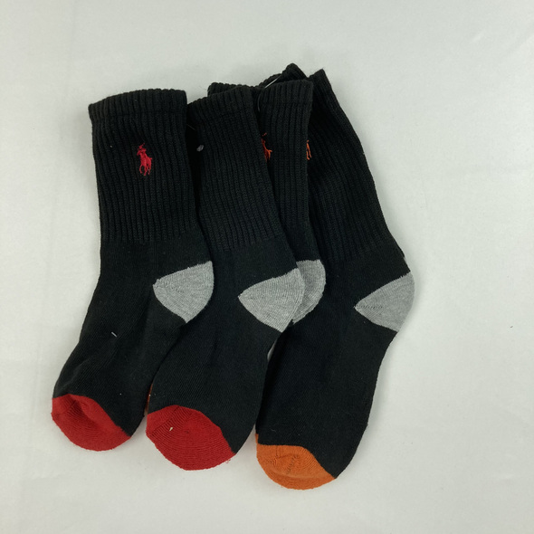 Color Block Socks 3-pk
