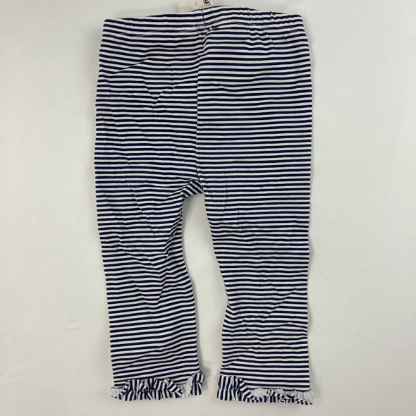 Stripe Rouched Leggings 12 mth