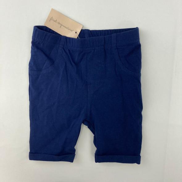 Navy Bermuda Shorts 24 mth