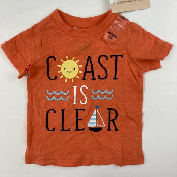 Coast Is Clear Tee 3-6 mth