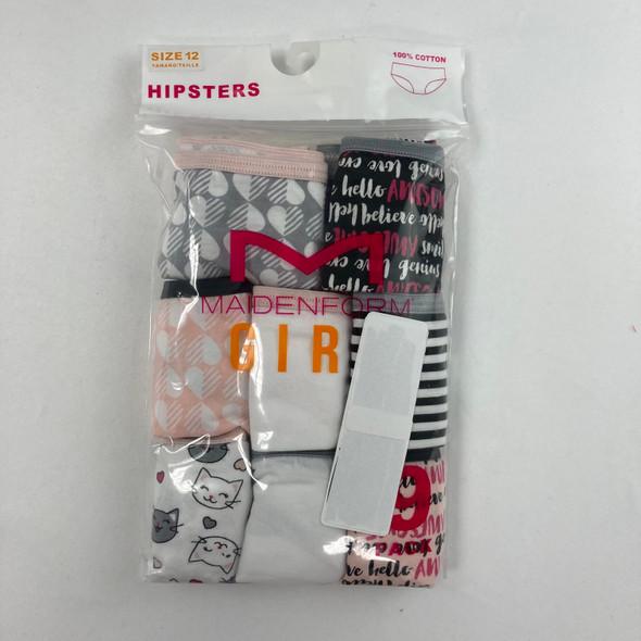 Patterned 8-pk Underwear 12 yr