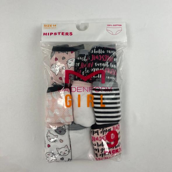 Patterned 8-pk Underwear 14 yr