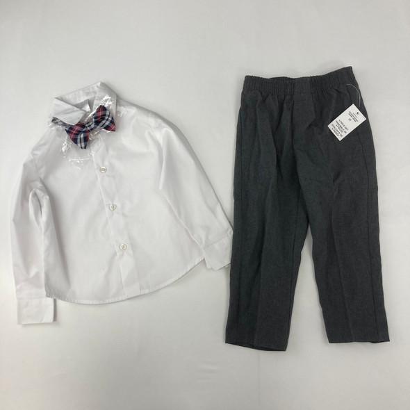 White Formal Wear Set 3T