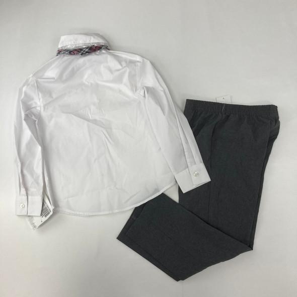 White Formal Set 6 yr