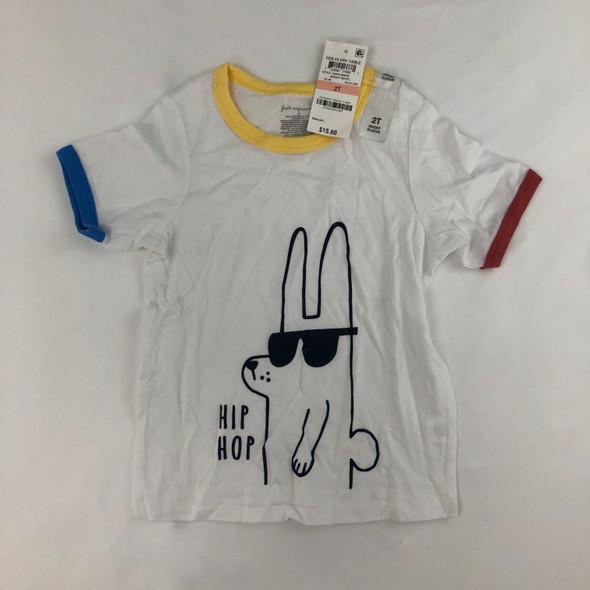 Hip Hop Bunny Tee 2T