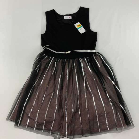 Sequin Stripes Dress 16 yr