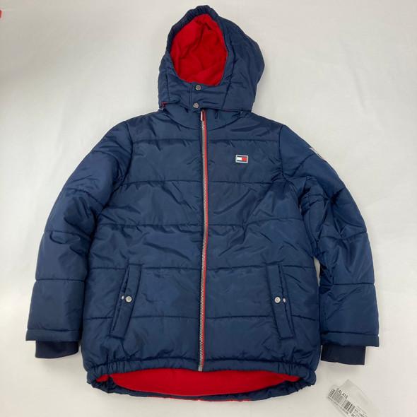 Navy Puffer Jacket 14-16 yr