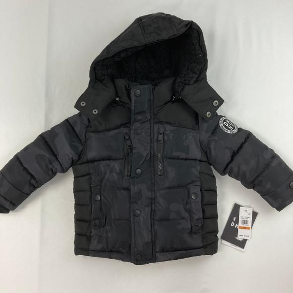 Camo Bubble Jacket 3T