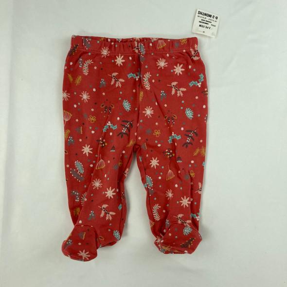 Winter Pattern Pants 0-3 mth