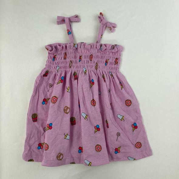 Snack Scrunch Dress 6-9 mth