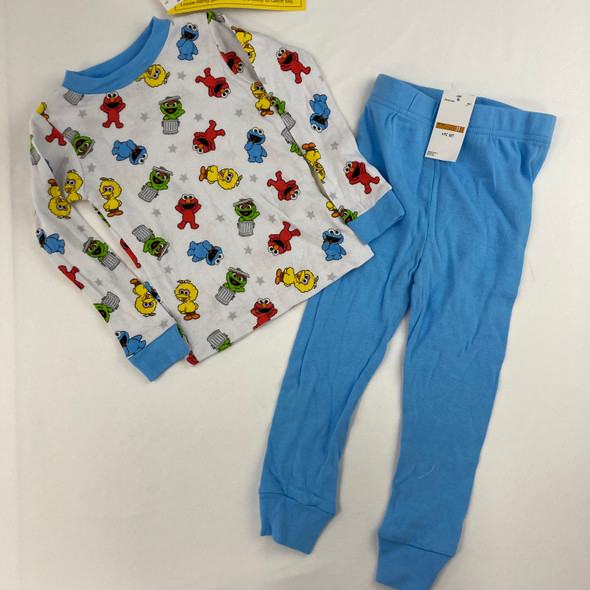 Sesame Street 2-Pc Pajama Set 3T