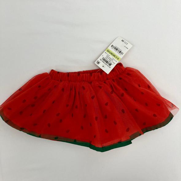 Watermelon Tutu 0-3 mth