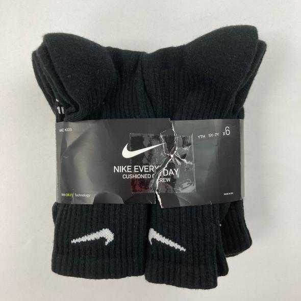 6-pack Performance Cushion Crew Socks 5Y-7Y