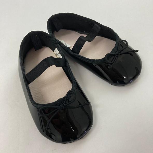 Black Ballet Flats 9-12 mth
