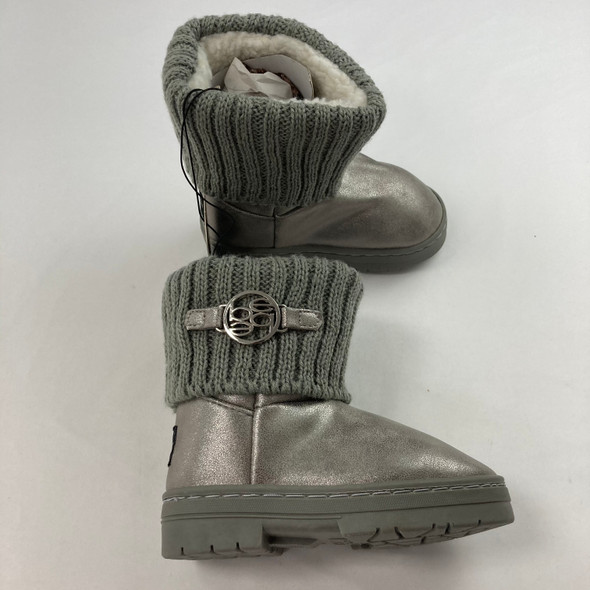 Pewter Boots 8