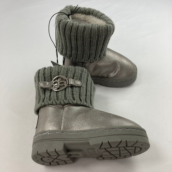 Pewter Boots 7