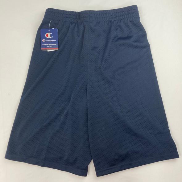 Navy Heritage Mesh Shorts Large
