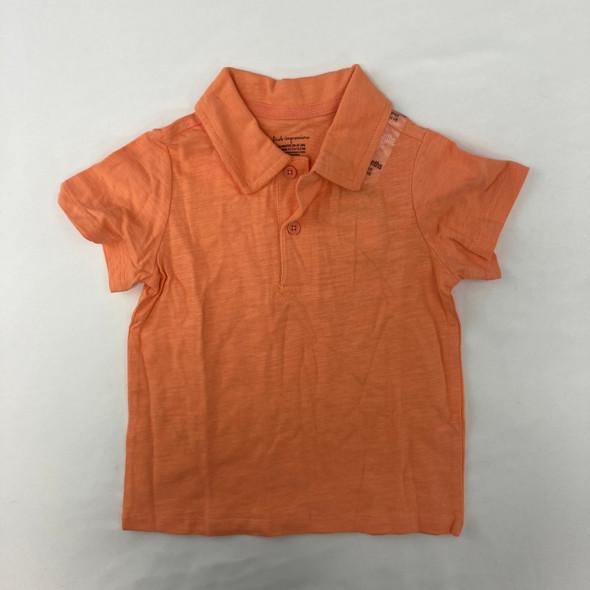 Orange Polo 18 mth