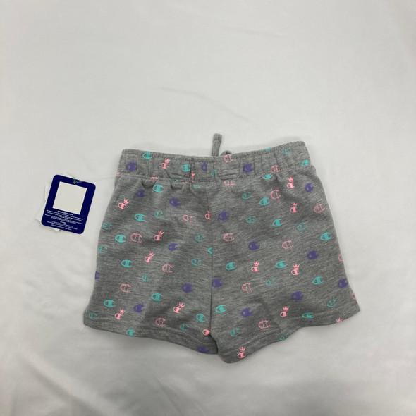 Logo Shorts Gray 5