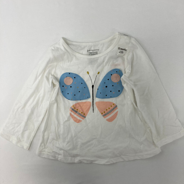 Butterfly Tee 12 mth
