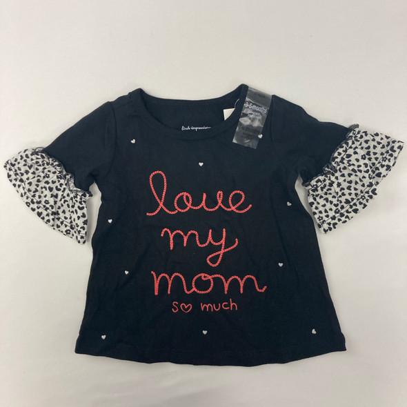 Love Mom Tee 3-6 mth