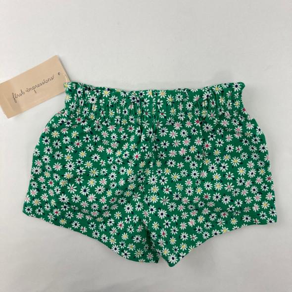 Daisy Shorts 3-6 mth