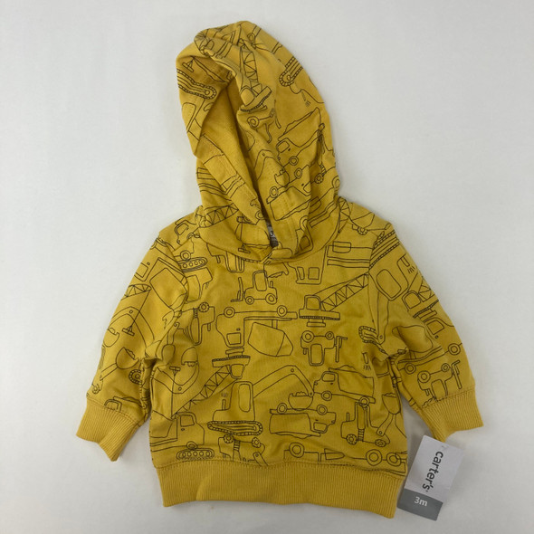 Knit Construction Hoodie 3 mth