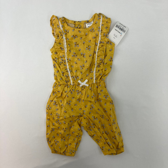 Floral Yellow 1pc NB
