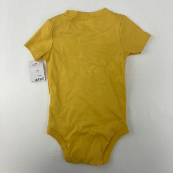 Yellow Digger Bodysuit 12 mth
