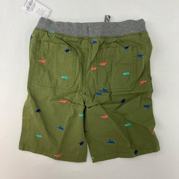 Dino Print Shorts 7 yr