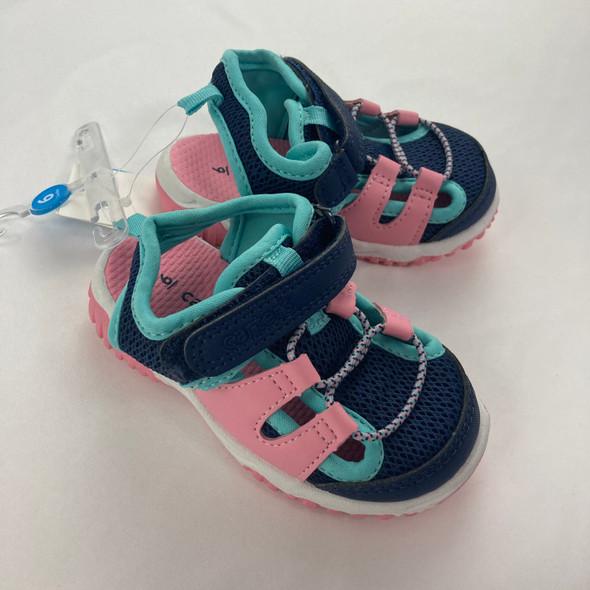 Sunny2 Navy Sandals 6
