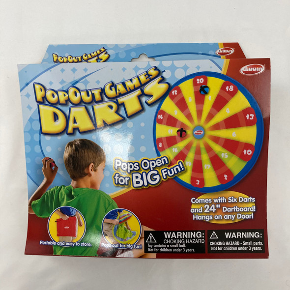 Pop Out Darts Game