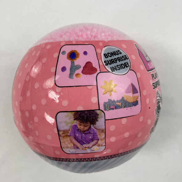 Pink Play Foam Surprise Ball