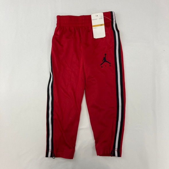 Red Solid Jogger 3T