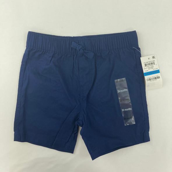 Navy Sea Shorts 24 mth