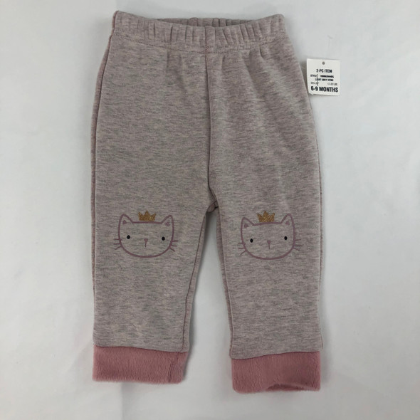 Kitty Queen Joggers 6-9 mth