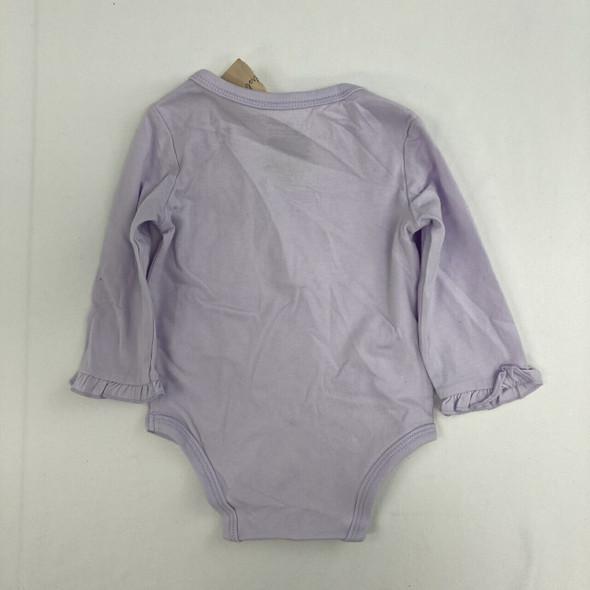 Lilac Bunny Bodysuit 6-9 mth