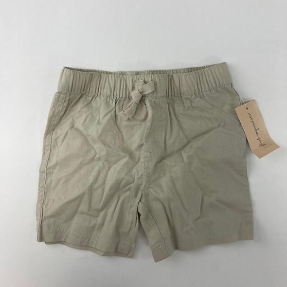 Beige Shorts 3-6 mth
