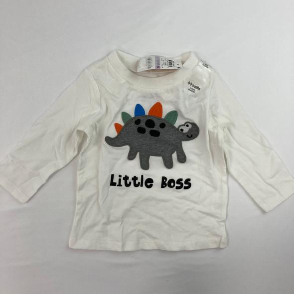 Little Boss Top 6-9 mth
