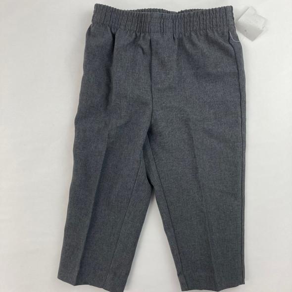 Charcoal Dress Pants 12 mth