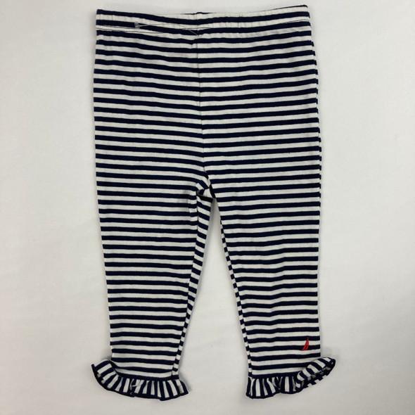 Stripe Ruffle Leggings 12 mth